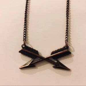 Free with purchase Arrow Necklace